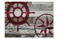 Coastal Nautical 02 Fine-Art Print