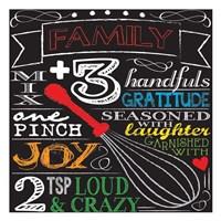 Family Plus Three Fine-Art Print