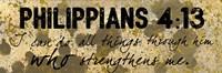 Philippians Strength Fine-Art Print