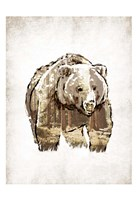 Butch in Woods Fine-Art Print