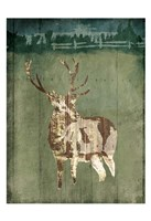 Deer In The Field Fine-Art Print