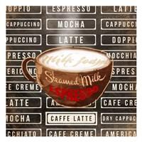 Caffe Latte Two Fine-Art Print