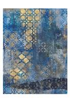 Ornate Azul A2 Fine-Art Print