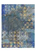 Ornate Azul B2 Fine-Art Print