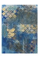 Ornate Azul D2 Fine-Art Print