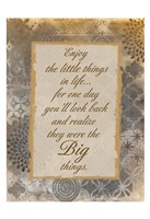 The Little Things Fine-Art Print