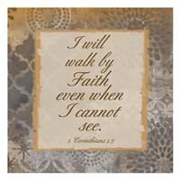 Walk In Faith Fine-Art Print