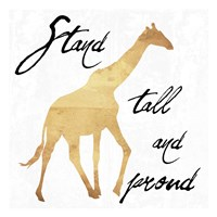 Stand Tall And Proud Fine-Art Print