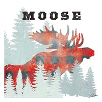 Moose Plaid Fine-Art Print