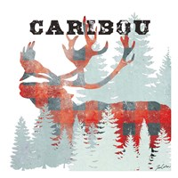 Plaid Caribou Fine-Art Print