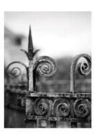 Fence bw 3 Fine-Art Print