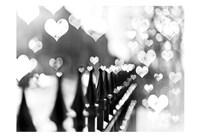 Fence Hearts Fine-Art Print