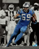 Luke Kuechly 2015 Spotlight Action Fine-Art Print