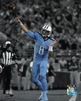 Marcus Mariota 2015 Spotlight Action Fine-Art Print