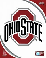 Ohio State University Buckeyes Team Logo Fine-Art Print