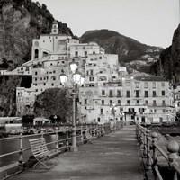 Amalfi Pier I Fine-Art Print