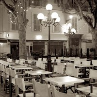 Cote d'Azur Cafe I Fine-Art Print