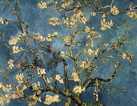 Blossoming Almond Tree, Saint-Remy, c.1890 Fine-Art Print
