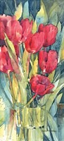 Red Hot Tulips Fine-Art Print