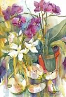 Apples & Orchids Fine-Art Print