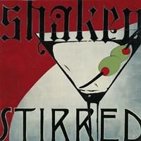 Shaken Stirred Fine-Art Print