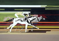 Race Horses Fine-Art Print