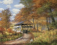Covered Bridge Fine-Art Print