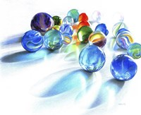 Blue Marble Reflection Fine-Art Print