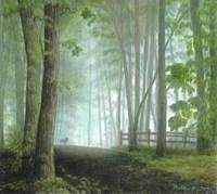 Misty Morning Visitor Fine-Art Print