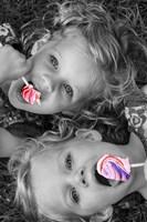 Lollipop Twins Fine-Art Print