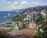 Coastal Tranquility Fine-Art Print