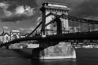 Budapest Chain Bridge BW Fine-Art Print
