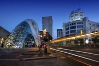 Eindhoven Nighttime Cityscape Fine-Art Print