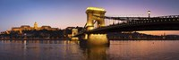 Panorama Budapest Chain Bridge Fine-Art Print