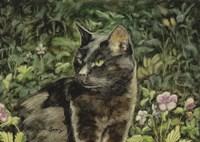 Mama in the Garden Fine-Art Print