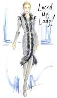 Laced Up Lady Fine-Art Print