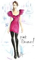 Pink Flamenco Fine-Art Print