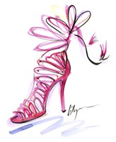 Pink Up Your Heels Fine-Art Print