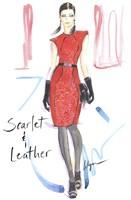 Scarlet & Leather Fine-Art Print
