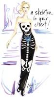 Skeleton In Your Closet Fine-Art Print