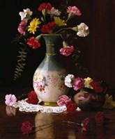 Carnations in a Victorian Vase Fine-Art Print
