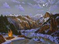 Miwok Indians At Yosemite Fine-Art Print