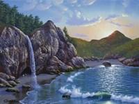Mc Way Cove Sunset Fine-Art Print
