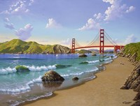 Golden Gate, CA 1940 Fine-Art Print