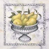Pears In A Silver Bowl Fine-Art Print