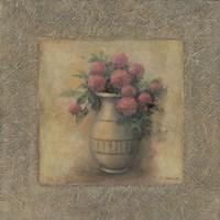 Red Flowers In Vase Fine-Art Print