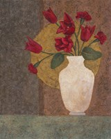 Red Tulips in a Vase Fine-Art Print