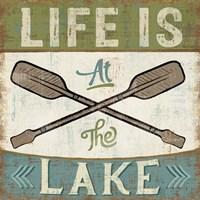 By the Lake I Fine-Art Print