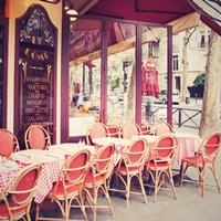 Cafe le Dome Fine-Art Print