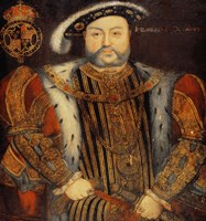 Portrait of Henry VIII E Fine-Art Print